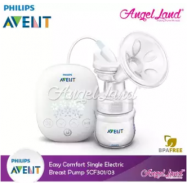 image of [Genuine] Philips Avent Easy Comfort Single Electric Breast Pump SCF301/03