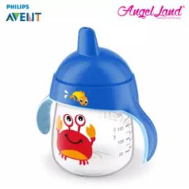 image of Philips Avent Premium Spout Cup 9oz -Mix Color SCF753/04 Blue Crab