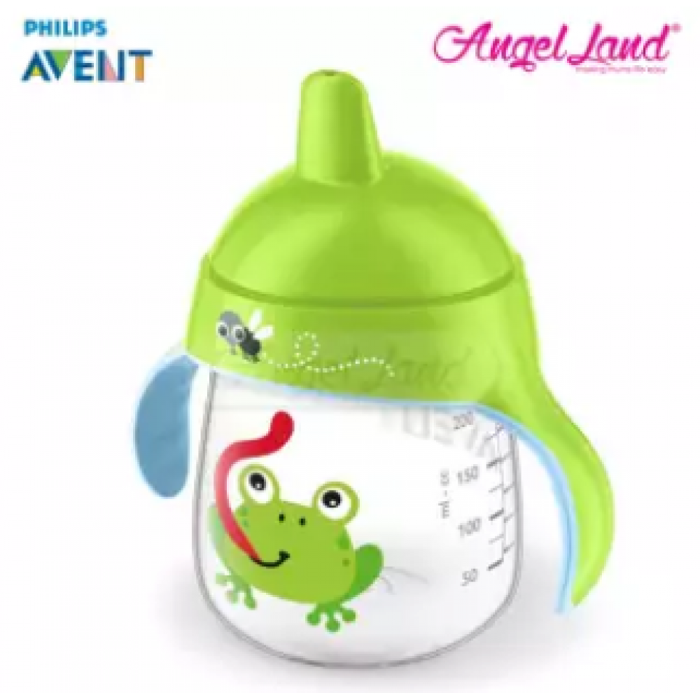 Philips Avent Premium Spout Cup 9oz -Mix Color SCF753/04 Green Frog