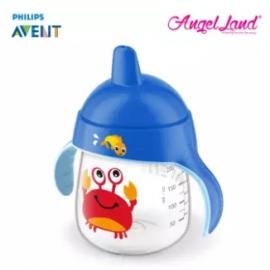 image of Philips Avent Premium Spout Cup 9oz -Mix Color SCF753/02 Blue Crab