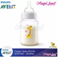 image of Philips Avent Classic+ Feeding Bottle 9oz/260ml Single Pack -Giraffe