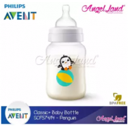 image of Philips Avent Classic+ Feeding Bottle 9oz/260ml Single Pack -Penguin