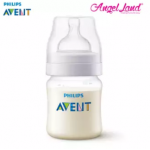 Philips Avent Anti-Colic Classic + PA Baby Clear Bottle 125ml/4oz (Single Pack) - SCF452/17