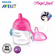 image of Philips Avent Premium Spout Cup 9oz -Mix Color SCF753/02 Pink Fisher
