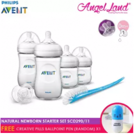 image of Philips Avent Natural Newborn Starter Set SCD290/11 (Free Creative Pills Ballpoint Pen (random) x1)