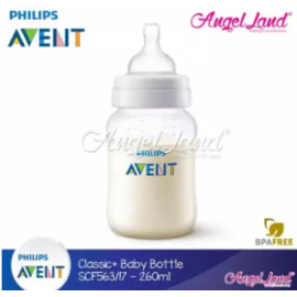 image of Philips Avent Classic+ Anti Colic (1m+) 260ml/9oz Single Pack SCF563/17