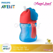 image of Philips Avent Straw Cup Dinosaur 7OZ-SCF796/00-Blue