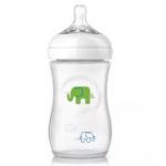 Philips Avent SCF627/17 Elephant Design Bottle + Pacifiers (Multicolor)