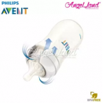 [Best Buy For 2x] Philips Avent Natural Bottle 9oz / 260ml Twin Pack (Pink) - SCF694/23 + Philips Avent Natural Teat -Pink 260ml & SCF658/23
