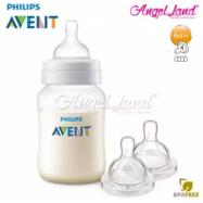 image of Philips Avent Classic+ Anti Colic (1m+) 260ml/9oz Single Pack SCF563/17 + Philips Avent Classic+ Teat -Bottle 260ml & Teat SCF634/27