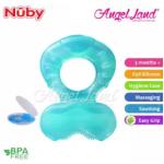 Nuby comfort silicone fish shaped teeth Random Color- NB53005