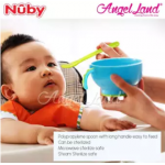 Nuby Garden Fresh Mash N Feed Bowl with Lid Spoon and Food Masher (6m+) NB5435