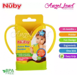 image of Nuby Banana Juice Box Holder 1pc (18m+) NB5462