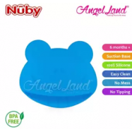 image of Nuby Suregrip Placemat Frog Design 1pc (6m+) NB92910 - Blue