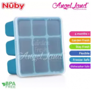 image of Nuby Garden Fresh Fresh Food Freezer Tray (4m+) NB5434 - Blue