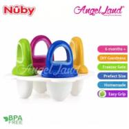 image of Nuby Garden Fresh Fresh Food Popsicle Tray 4pcs (6m+) NB5438