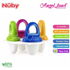 image of Nuby Garden Fresh Fresh Food Popsicle Tray 4pcs (6m+) NB5438