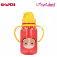 image of Snapkis My First Straw Water Bottle 350ml - Dog - SKS11054