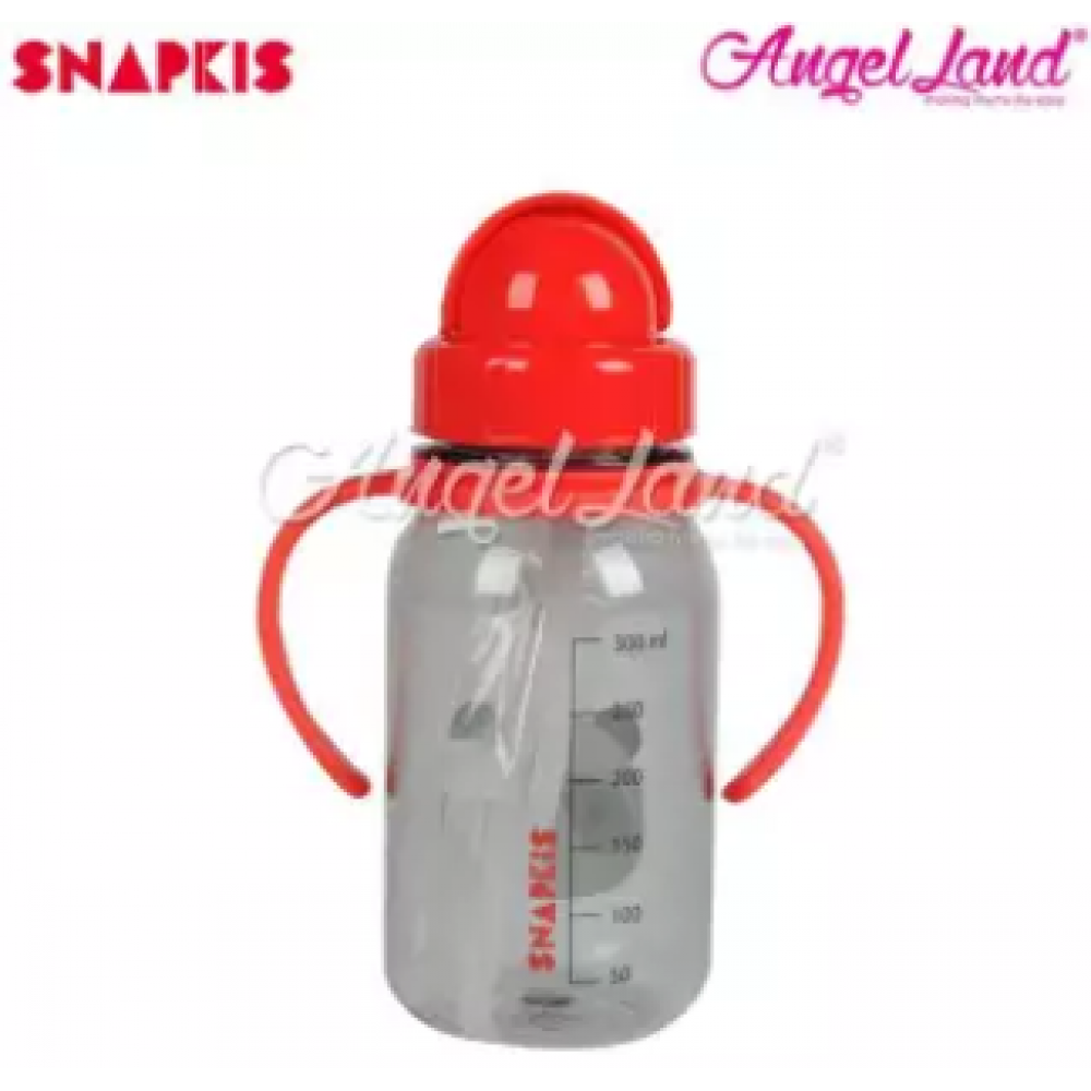 Snapkis My First Straw Water Bottle 350ml - Panda - SKS11042
