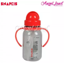 image of Snapkis My First Straw Water Bottle 350ml - Panda - SKS11042
