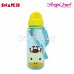 Snapkis Straw Water Bottle 500ml - Giraffe - SKS11030