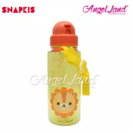 image of Snapkis Straw Water Bottle 500ml - Lion - SKS11048
