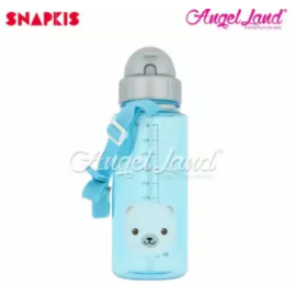 image of Snapkis Straw Water Bottle 500ml - Polar - SKS11069
