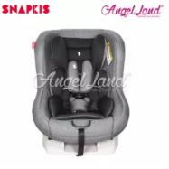 image of Snapkis Transformer Car Seat Suitable for Child 0-18kg (0m-4y) - Grey Melange / Black