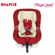 image of Snapkis Transformer Car Seat Suitable for Child 0-18kg (0m-4y) - Red Melange / Cream