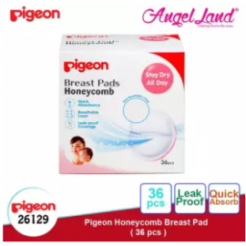image of [Buy 1 Free 1] Pigeon Breast Pad 36pcs/box 26129 x2