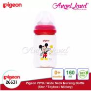 image of Pigeon Nursing PPSU Bottle Wide Neck 160ml Mickey -26631