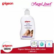 image of Pigeon Sakura Baby Milk Lotion, 500ml -08646
