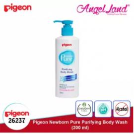 image of Pigeon Newborn Pure Purifying Body Wash, 200ml -26237