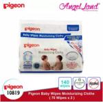 Pigeon Baby Wipes Moisturizing Cloths, 70's (2packs) 10819