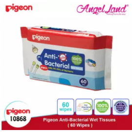 image of Pigeon Anti-Bacterial Wet Tissues, 60's 10868