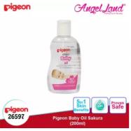 image of Pigeon Baby Oil Sakura 200ml - 26597