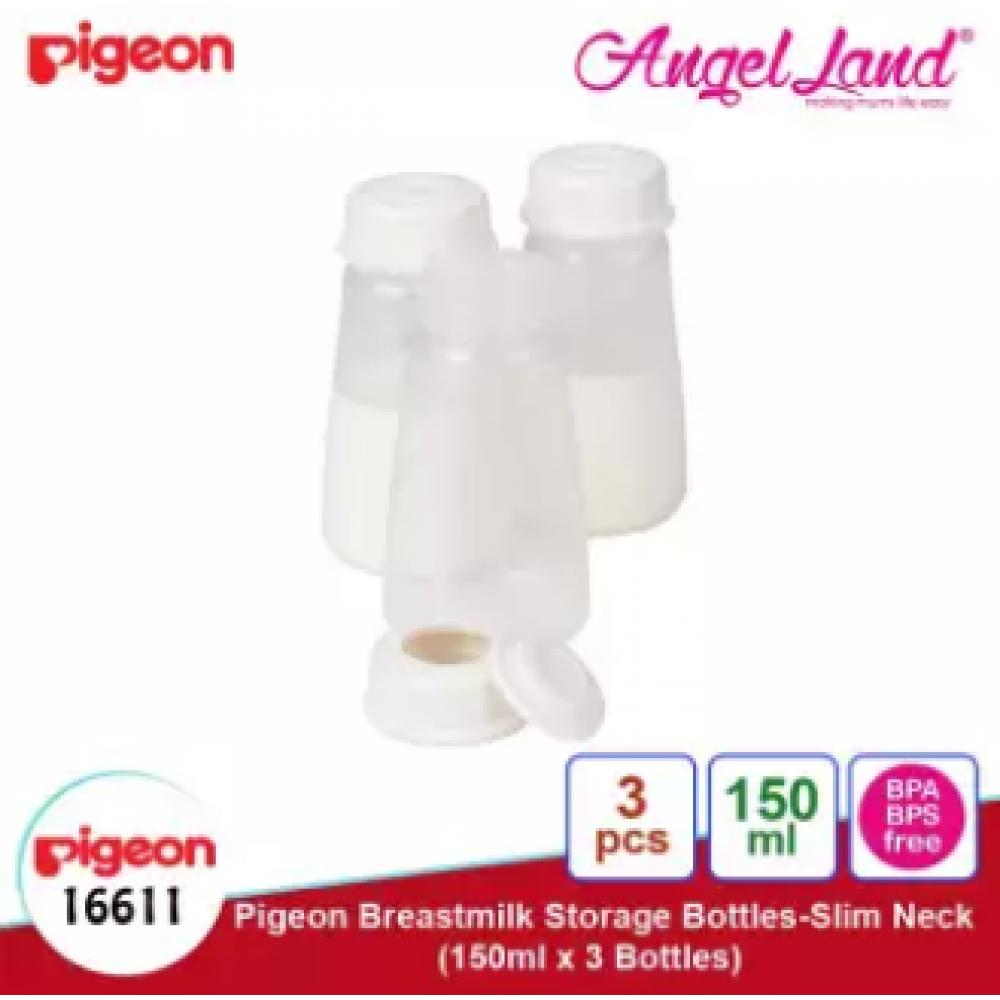 Pigeon Breastmilk Storage Bottles Slim Neck 150ml 3pcs PG16748 - 16611