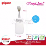 Pigeon Weaning Bottle with Spoon 120ml(03328) / 240ml(03329) - 120ml (03328)
