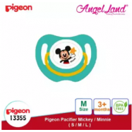 image of Pigeon Disney Pacifier Mickey/Minnie - M (3 month+) Mickey 13355