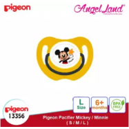 image of Pigeon Disney Pacifier Mickey/Minnie - L (6 month+) Mickey 13356