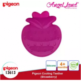 image of Pigeon Cooling Teether (4 months+) - Strawberry (13613)