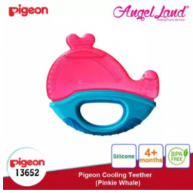 image of Pigeon Cooling Teether (4 months+) - Pinkie Sharkie (13652)