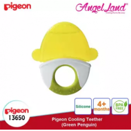 image of Pigeon Cooling Teether (4 months+) - Green Penguin (13650)