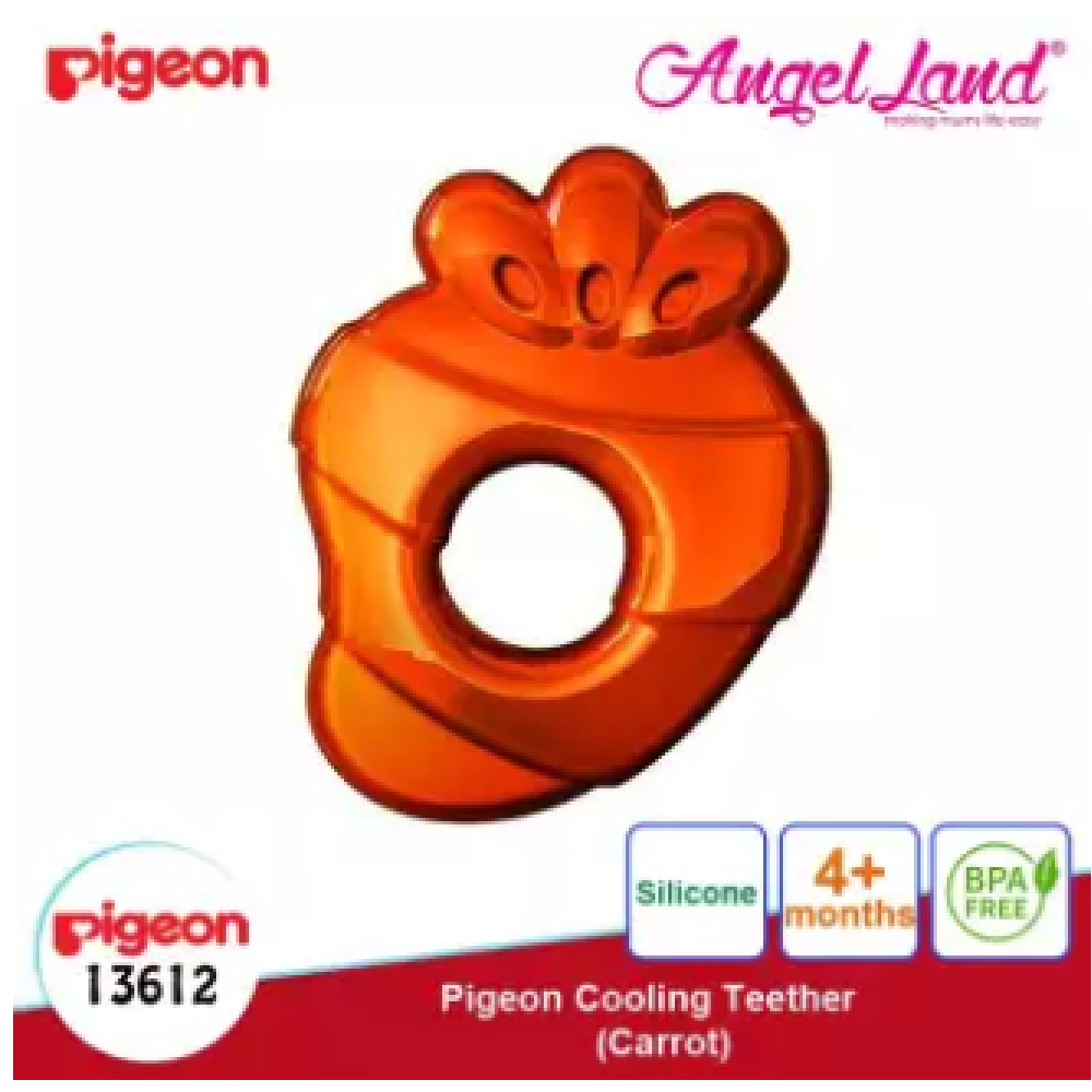 Pigeon Cooling Teether (4 months+) - Carrot (13612)