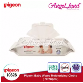 image of Pigeon Baby Wipes Moisturizing Cloths 70s - 10828