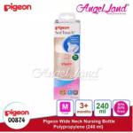 Pigeon Wide Neck PP Bottle PPlus Nipple M 240ml PG00874