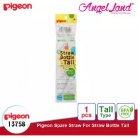image of Pigeon Straw Bottle Tall Spare Straw 13758