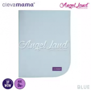 image of Clevamama Tencel Toilet Training Sleep Mat 70x90cm – Blue