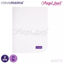 image of Clevamama Tencel Toilet Training Sleep Mat 70x90cm – White