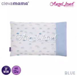 image of Clevamama Replacement Toddler Pillow Cover - Blue - CLE3307